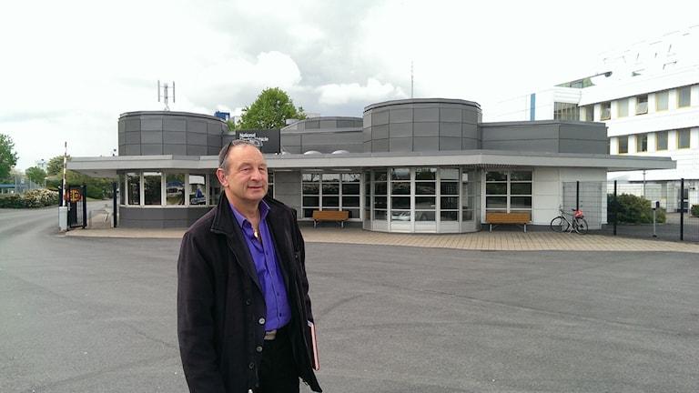 Leif Håkansson, fackombud för IF Metall i Trollhättan.