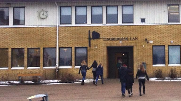 Tingbergsskolan i Lödöse, Lilla Edets kommun. Foto: Vjosa Osmani/Sveriges Radio.