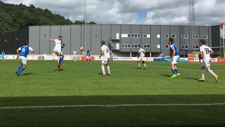 Nickduell i matchen mellan Oddevold och Oskarshamn