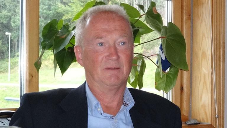 Lars-Olof Mattsson fortsätter som tränare i Oddevold. Foto: Bengt Israelsson/Sveriges Radio