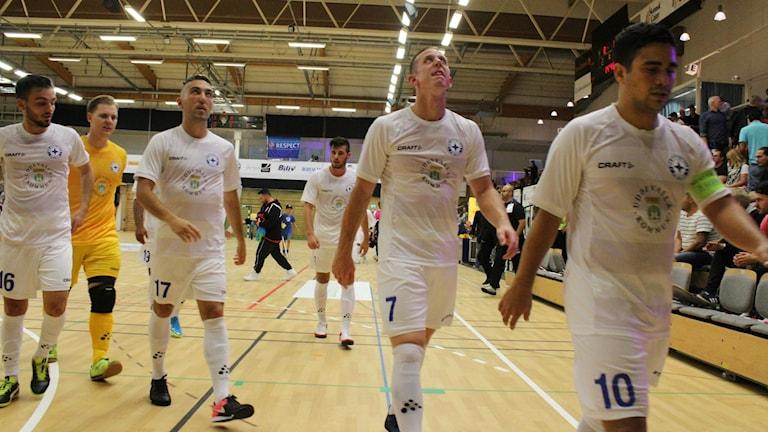 IFK Uddevalla futsal är utslagna ur Uefa futsal cup efter förlust mot tyska Regensburg.