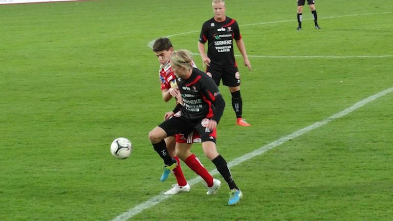 Fotboll FC Trollhättan-Skövde AIK Foto: Bengt Israelsson/Sveriges Radio