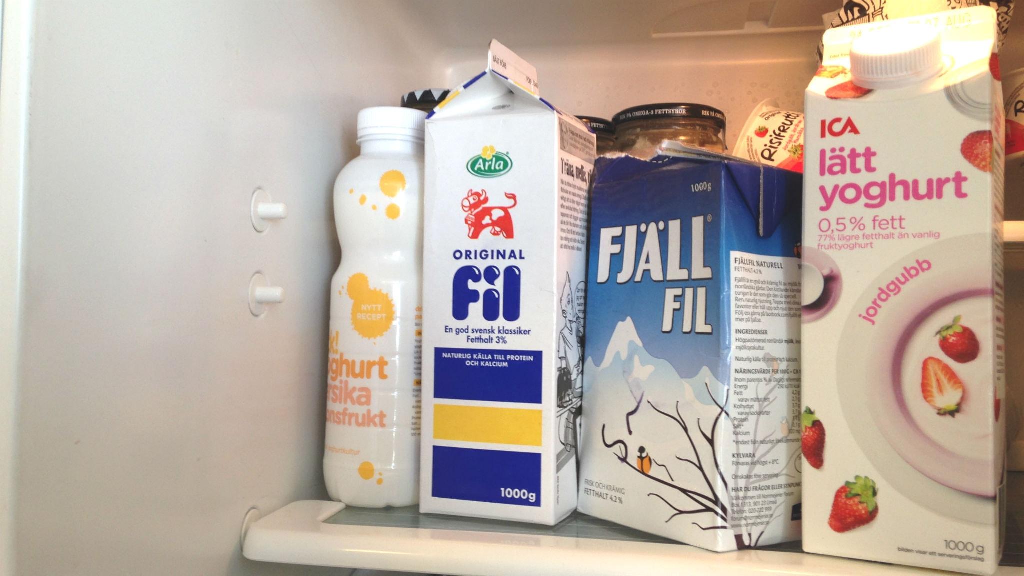 filmjölk eller yoghurt nyttigast