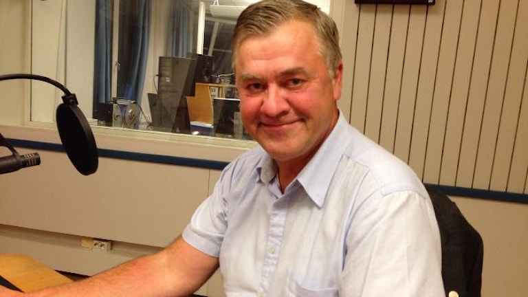 Lars-Arne Staxäng (M). Foto: Susanna Wictorzon/Sveriges Radio.