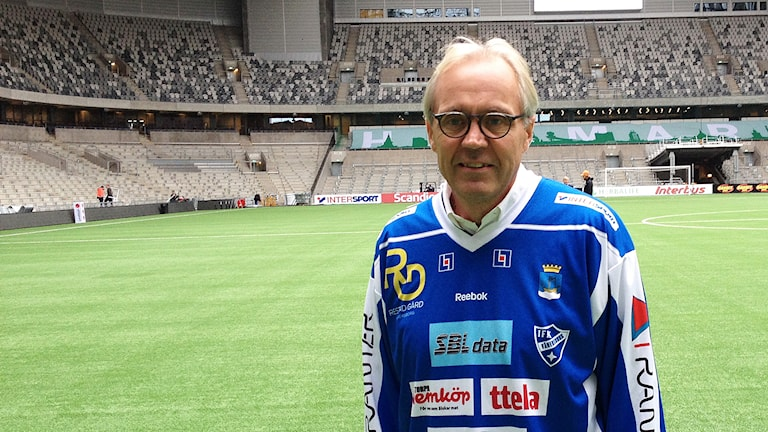 Stefan Karlsson, IFK Vänersborg. Foto: Marcus Gorne/Sveriges Radio