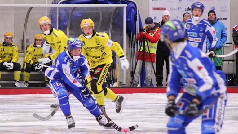 Bandy IFK Vänersborg ArkivbildFoto: Elliot Ohlén/Sveriges Radio