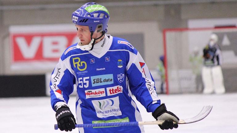 Bandy IFK Vänersborg Johan Koch Foto: Elliot Ohlén/Sveriges Radio