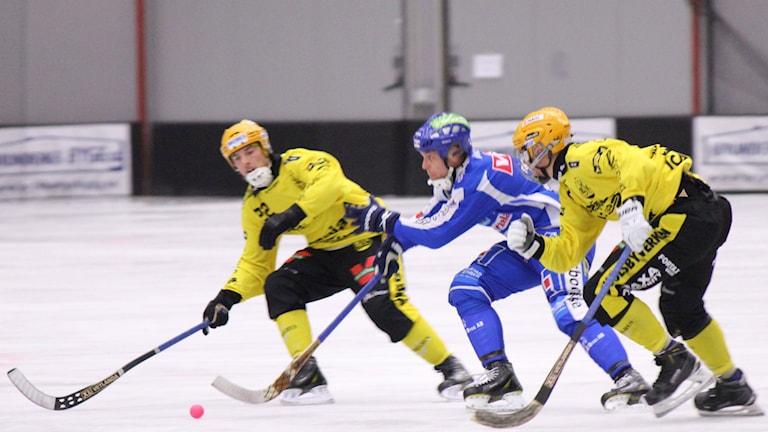 Bandy IFK Vänersborg Henrik Eriksson Arkivbild Foto: Elliot Ohlén/Sveriges Radio