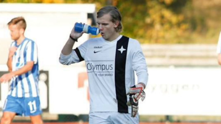 Bild på Marcus Gerd, IFK Uddevalla.