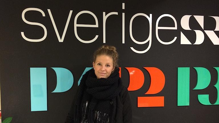 Elin Gustafsson vill rädda en tradition hon tycker om. Foto: Oskar Lodin / Sveriges Radio