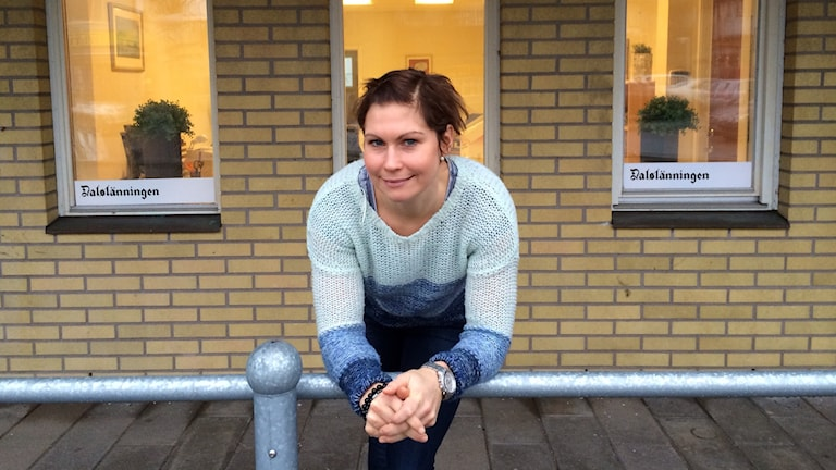 Anna Nyberg, lokalredaktör i Dals-Ed. Foto:Cecilia Bergil/Sveriges Radio