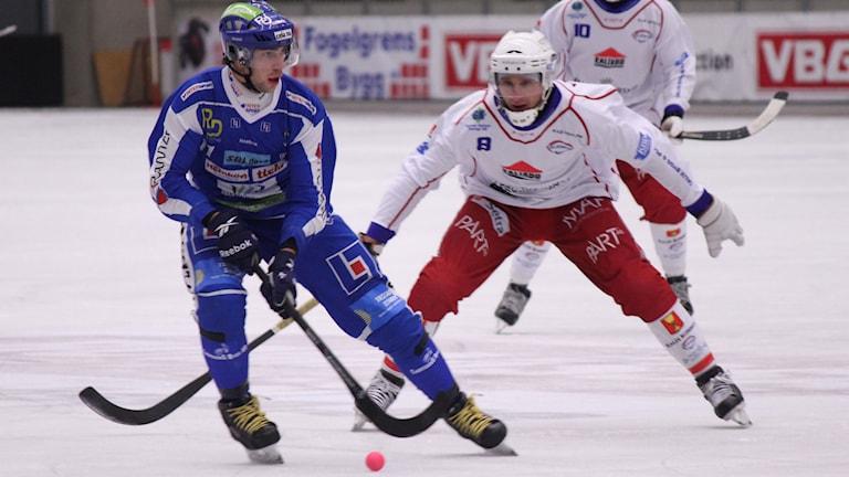 Bandy IFK Vänersborg Christoffer Fagerström Arkivbild Foto: Elliot Ohlén/Sveriges Radio