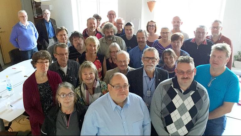 Lyssnare i P4 Västs publiknätverk. Foto: Susanna Wictorzon/Sveriges Radio.