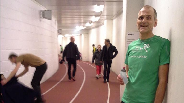Bild på löparen Jesper Färgersten.