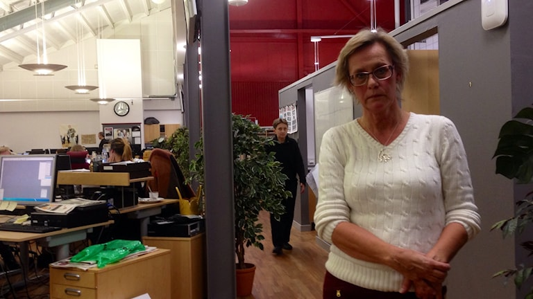 Marita Engqvist, chefredaktör TTela, Foto: Elisabeth Cederblad P4 Väst Sveriges Radio
