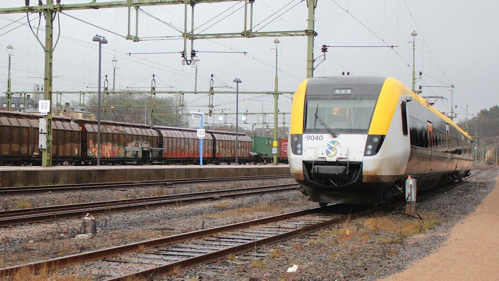 Västtrafiks tåg på Bohusbanan. Foto: Tommy Öster/P4 Väst