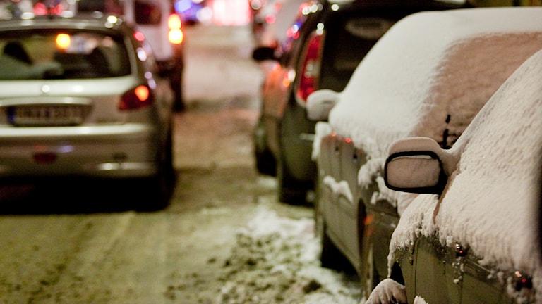 Många glömmer bilen i julstressen. Foto: Christine Olsson/Scanpix