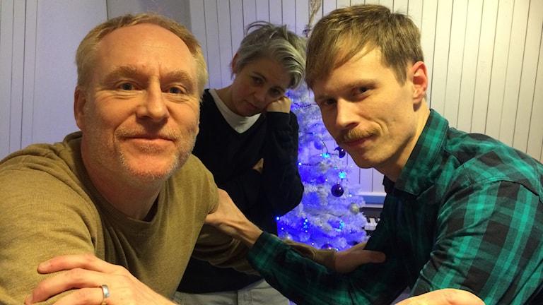 Framåt Fredag: Peter och Jimmie tar grabbatag. Foto: Sveriges radio