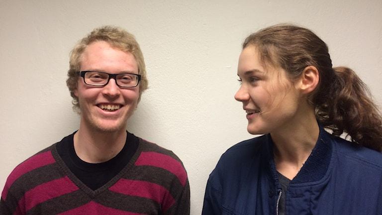 Linus Källgård och Anna Pavia. Foto: Robin Lennqvist