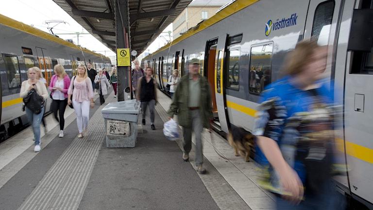 Jobbpendlandet har ökat från Göteborg. Foto: Adam Ihse/TT