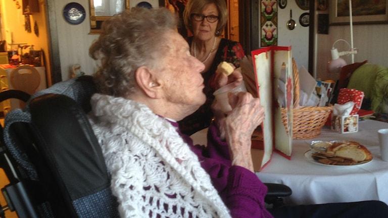 Bild på Alice Östlund, 108 år