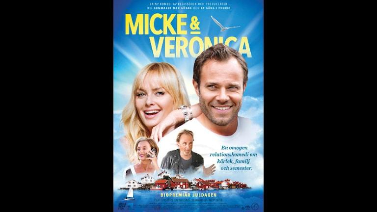 """Gullholmen med på affischen för filmen """"Micke & Veronika"""" Foto: Stella Nova Film"""