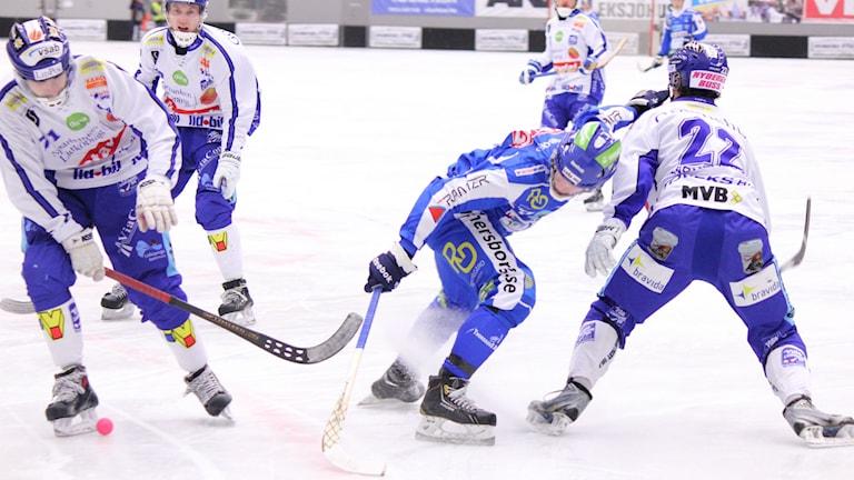 Bandy IFK Vänersborg Arkivbild Foto: Elliot Ohlén/Sveriges Radio