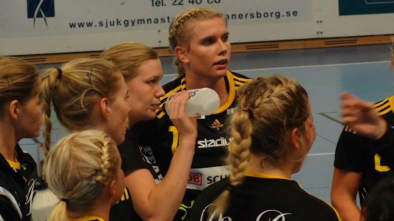 Handboll Jenny Alm Sävehof Foto: Bengt Israelsson/Sveriges Radio