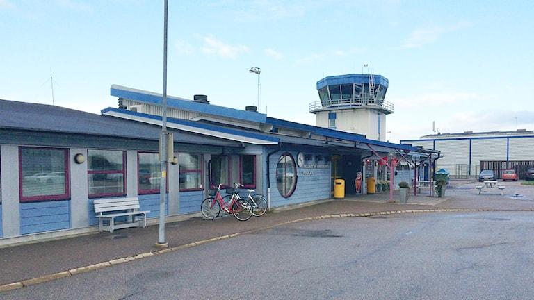 Trollhättan Vänersborg flygplats. Foto: Victor Jensen/Sveriges Radio.