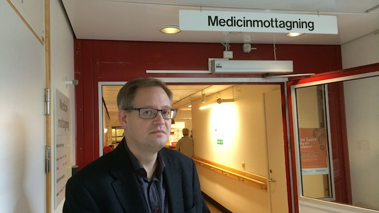 Magnus Kronvall. Foto:Cecilia Bergil/Sveriges Radio