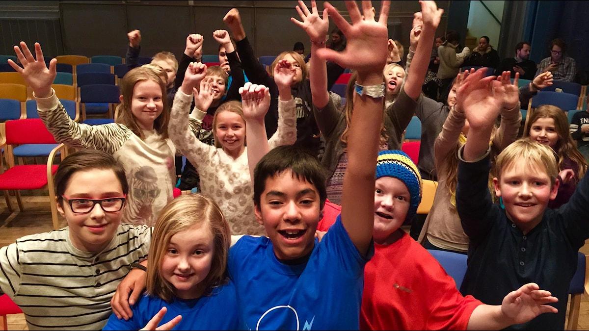 Vinnarbild Fridaskolan Vi i femman 2015