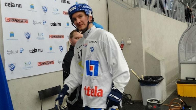 Bandy IFK Vänersborg Mikko Lukkarila Foto: Bengt Israelsson/Sveriges Radio