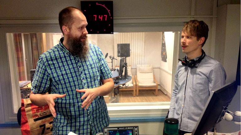 Surdegsgubben Dennis Lundin Foto: Cajsa Vingros Carlson P4 Väst Sveriges Radio