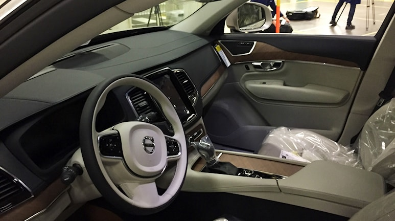 Volvo XC90. Foto: Victor Jensen/Sveriges Radio.