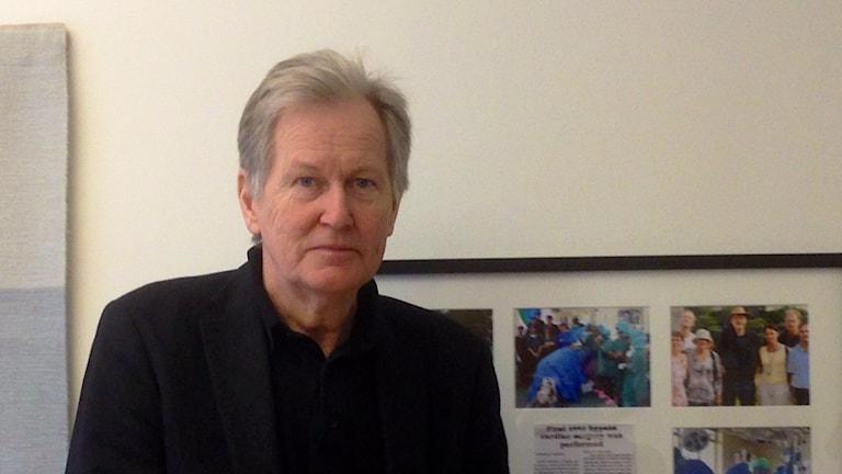Lars Wiklund, Sjukvårdsdirektör NU-sjukvården, Foto: Elisabeth Cederblad P4 Väst
