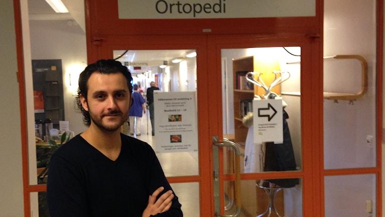 Arvin Yarollahi, verksamhetschef på ortopedkliniken i NU-sjukvården.