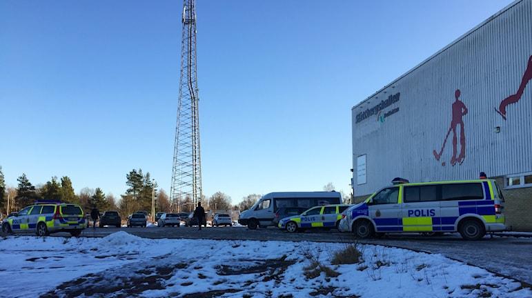 Polis Slättbergshallen