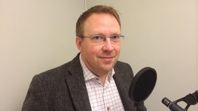 Henrik Sundström. Foto:Cecilia Bergil/Sveriges Radio
