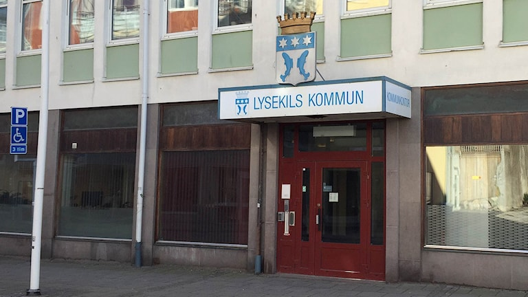 Kommunhuset i Lysekil. Foto: Anton Eriksson/Sveriges Radio