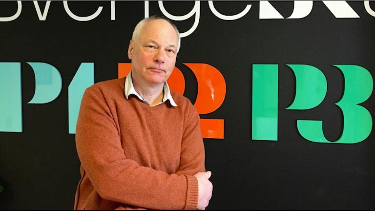 Christer Fransson, tillförordnad socialchef i Uddevalla. Foto: Victor Jensen/Sveriges Radio.