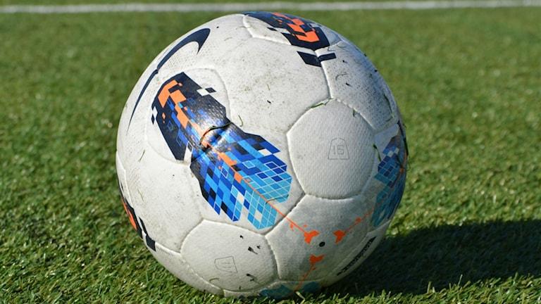 Arkivbild på en fotboll.