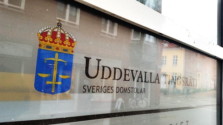 Uddevalla tingsrätt. Foto: Tommy Öster/Sveriges Radio.