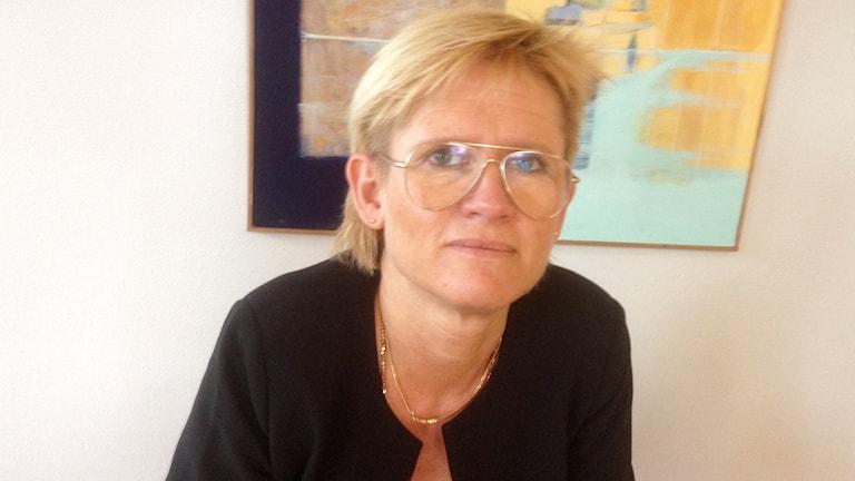 Annelie Sjölin. Foto: Elisabeth Cederblad