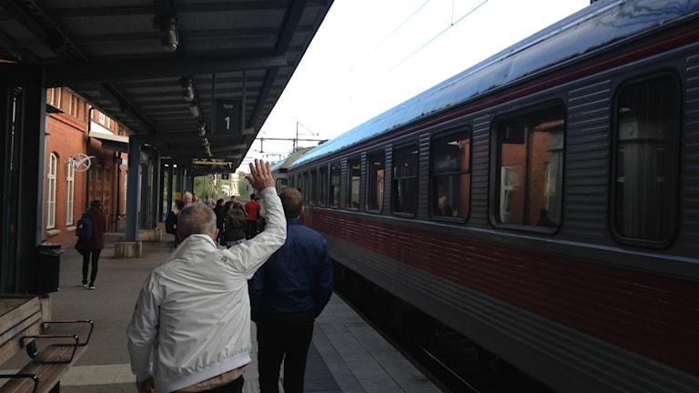Bild på Trollhättans station. Foto: Marcus Gorne/Sverige Radio