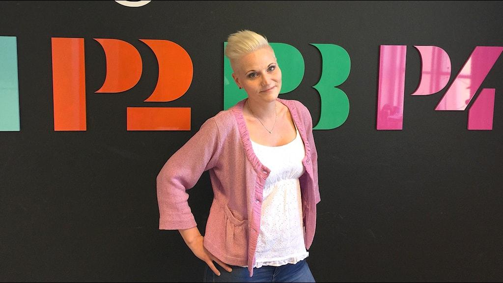 Lena Arlid. Foto: Susanna Wictorzon/Sveriges Radio.