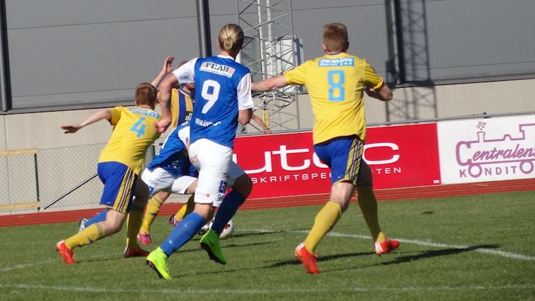 Arkivbild. IK Oddevold mot Eskilsminne. Foto: Bengt Israelsson/Sveriges Radio