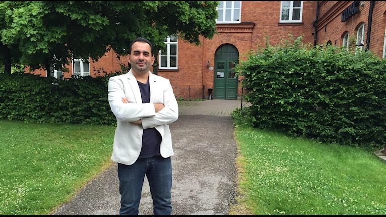 Adnan Abdulghani är en av initativtagarna till gruppen Support. Foto: Anton Eriksson/Sveriges Radio