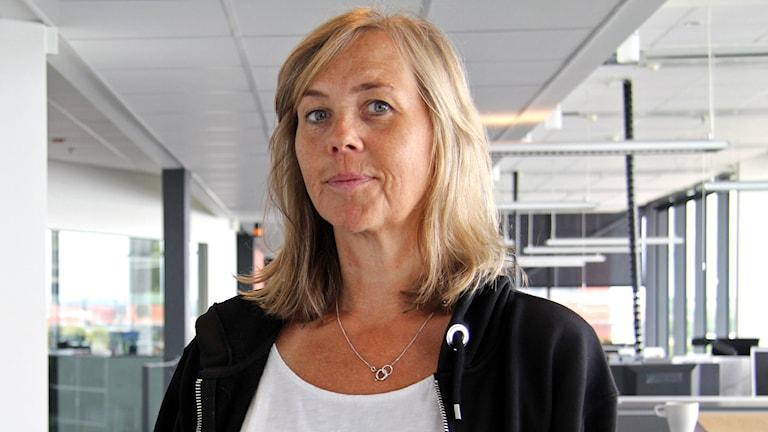 Författare Sara Kadefors. Foto: Emma Svensson/Sveriges Radio