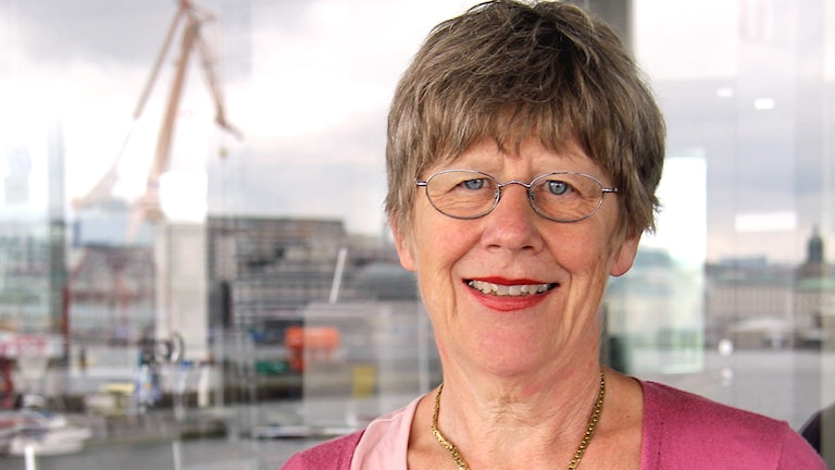 Agnes Wold. Foto: Emma Svensson/Sveriges Radio