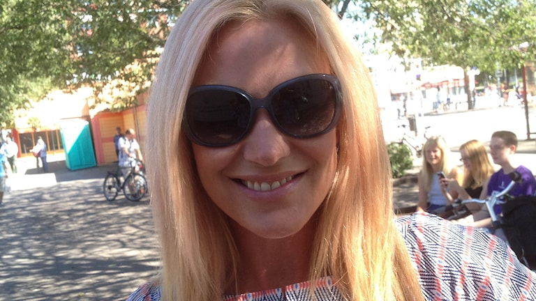 Jessica Andersson. Foto: Peter Olsson/Sveriges Radio.